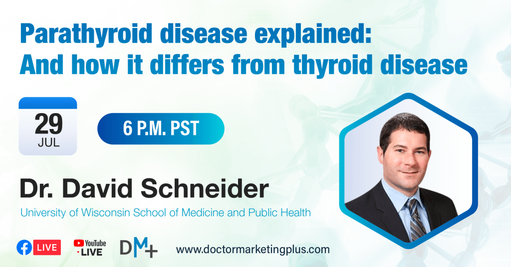Parathyroid disease explained: and how it differes from thyroid disease